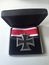 German Iron cross and ribbon in presentation case