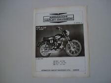 advertising Pubblicità 1972 MOTO AERMACCHI 125 DE LUXE
