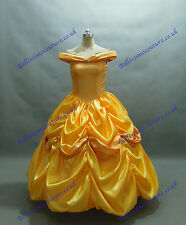 Disney Dress Beauty and Beast Belle Costume adult SIZE 6,8,10,12,14,16 Yellow