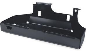 Warn Fuel Tank Skid Plate Black For 1997-2006 Jeep Wrangler TJ LJ Unlimited