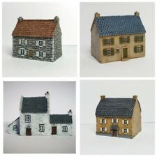 6mm wargame buildings. 4 - Piece Set - 6mm Wargame Scenery