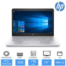 """HP 14-bk063sa 14 """"Peso Ligero Portátil Intel Pentium,4gb RAM,1tb HDD Windows 10"""