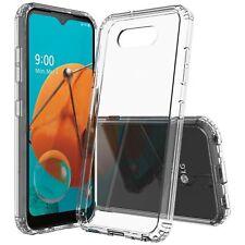 "For LG K31 LM-K300 (2020)5.7"" Transparent Bumper Clear Cover Slim Case US Stock"