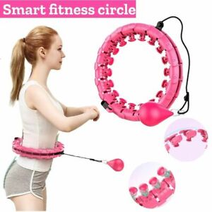 24 Knots Smart Hula Hoop Thin Waist Gym Fitness Thin Waist Weight Loss Circle