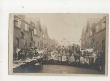 Peace Party Swanfield Road Waltham Cross Vintage RP Postcard Robert Rice 283b