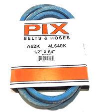 "A62K/4L640K Pix Kevlar Belt Compatible With JOHN DEERE M42538, M4900 (1/2""x64"")"
