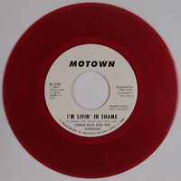 DIANA ROSS & SUPREMES: I'm Livin' in Shame MOTOWN Northern Soul DJ RED Wax 45