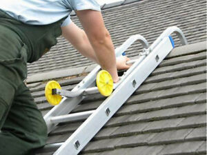 Ladder Roof Hook, Clamp easily to Any Straight and Extension Ladders.