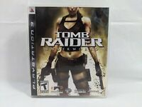 Tomb Raider: Underworld PS3 Video Game Complete With Manual Free Shipping