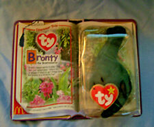 2000 McDonalds Ty Teenie Beanie Baby - Special Edition - Bronty The Brontosaurus
