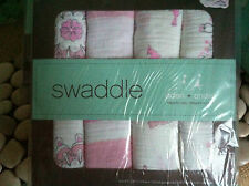 Aden & Anais Baby Swaddle Cloth 4 pk 'For the birds - new girls'