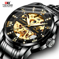 tevise brand mens automatic self wind watch