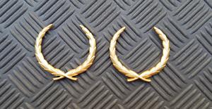 OEM Cadillac Wreath Body/Dash Emblems. GOLD color. 6 cm