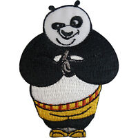 Kung Fu Panda Patch Po Embroidered Badge Iron On Sew On T Shirt Jeans Bag Jacket