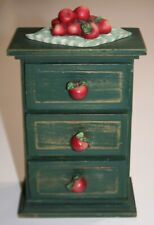 New listing Wooden Kitchen Spice Mini Cabinet 3 Drawer