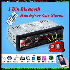 1Din In-dash Stereo Car Radio Head Unit MP3 BT FM Player/USB/SD/AUX Audio