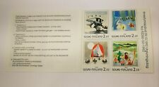 Finland 1992 Moomin Booklet Nordia 1993 MNH