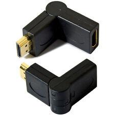 Hdmi Giratorias Cable adaptador de ángulo recto 90-270 grado L-v