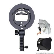 S-Type Bracket Holder with Bowens Mount for Speedlite Softbox Reflector Umbrella