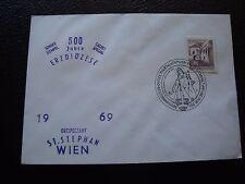 AUTRICHE - enveloppe 29/1/1969 (B7) austria