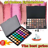 40 Colour Eye Shadow Makeup Cosmetic Shimmer Matte Eyeshadow Palette Set UK 2020