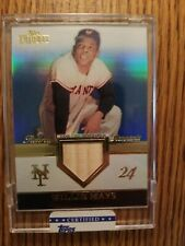 2012 Topps Tribute #RR-WM Willie Mays Game-Used Memorabilia Card 47/50