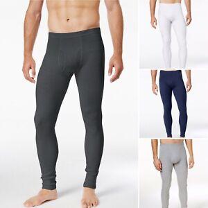 Alfani Men's Solid Thermal Pants