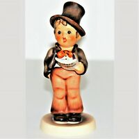"Goebel Hummel 131 Figurine Little Boy Caroler 5"" - Sty Bee TMK-3 No Box"