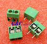 100PCS KF301-2P 2Pin Plug-in Screw Terminal Block Connector 5.08mm Green J14 NEW