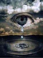 DIY 5D Diamond Painting Angel tears Eye Full drill Fashion Handicraft 6067X