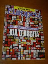 EUROPEO 1989/42=ANGELA BANDINI=BRUNO BANCHER=CARMELO BENE=STEPHEN JAY GOULD