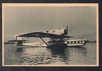 FL 2 ) Italien Postkarte AVIATION-SEAPLANE-DORNIER-WAL-GENOVA