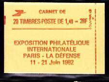 FRANCE CARNET 2102-C8a ** MNH carnet fermé, conf. N° 8, cote: 30  €