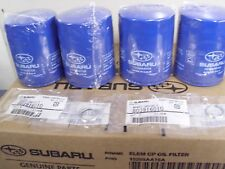 Genuine OEM Subaru 4 Pack Oil Filter with Crush Washer 2011 - 2018 (15208AA15A)