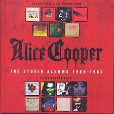 ALICE COOPER - The Studio Albums 1969-1983 [CD New] - 15 Disc Box Set