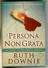 PERSONA NON GRATA by Ruth Downie, US Bloomsbury Roman mystery hardcover in DJ