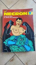 NECRON n. 7 - Ed. Blue Press -1991 -Fumetto EROTICO con disegni di MAGNUS