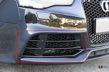 AUDI RS5 10-16 GENUINE FRONT BUMPER LOWER RIGHT O/S GRILL BLACK 8T0807682F T94
