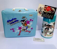 Rare Mint 1977 WONDER WOMAN Vinyl Lunch Kit W/Thermos, Instructions & Tags