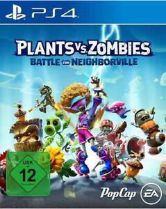 Playstation 4 Plants vs Zombies 3 Battle for Neighborville Neu