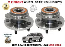 FOR JEEP GRAND CHEROKEE WJ WG 1998-2005 2X FRONT WHEEL BEARING HUBS ASSEMBLY KIT