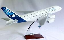 AIRBUS A380 LARGE  PLANE MODEL BOEING  AIRPLANE APX 43cm SOLID RESIN