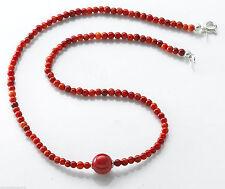 Halsketten aus Echtschmuck mit Korallen-Hauptstein für Damen
