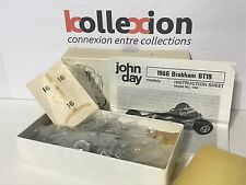 JOHN DAY 104 BRABHAM BT19 n°16 World Champion 1966 Brabham Kit 1.43 NB Rare
