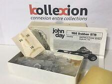 JOHN DAY 104 BRABHAM BT19 n°16 World Champion 1966 Brabham Kit 1.43 NB Rare