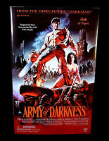 "Sideshow Army of Darkness Movie Ash 12"" Action Figure Bruce Campbell 2002"