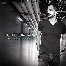 Luke Bryan Kill The Lights CD Fast Move Kick the Dust Up Strip it down New