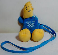 OLYMPICS ATHENS 2004 PHEVOS 8'' SOFT DOLL - BAG - PURSE WITH CORD