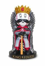2018 Cincinnati Reds Game Of Thrones King Mr Redlegs Bobblehead SGA 8-28-18