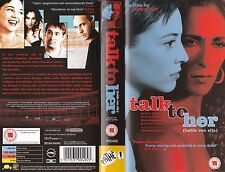 TALK TO HER VHS PAL JAVIER CAMARA,GERALDINE CHAPLIN,PEDRO ALMODOVAR NEW